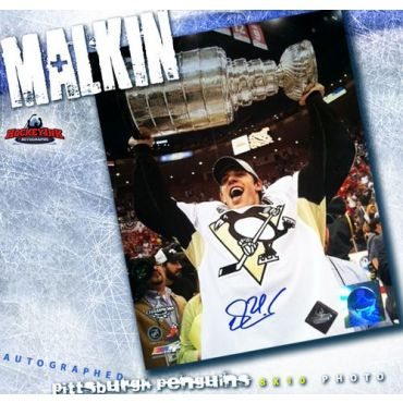 Evgeni Malkin Pittsburgh Penguins 8 x 10 Autographed Photo