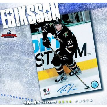 Loui Eriksson Dallas Stars 8 x 10 Autographed Photo