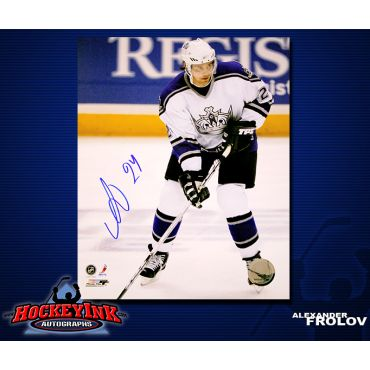 Alexander Frolov Los Angeles Kings 8 x 10 Autographed Photo