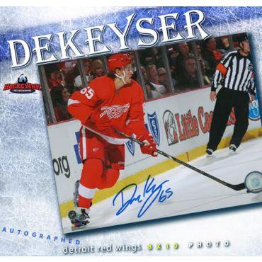 Danny DeKeyser Detroit Red Wings Autographed 8 x 10 Photo