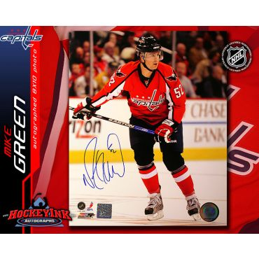 Mike Green Washington Capitals 8 x 10 Autographed Photo