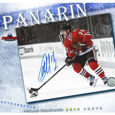 Artemi Panarin Chicago Blackhawks Autographed 8 x 10 Photo