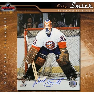 Billy Smith New York Islanders 8 x 10 Autographed Photo