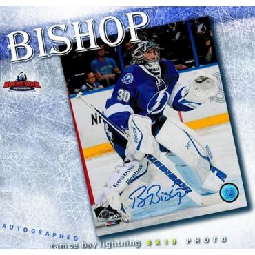 Ben Bishop Tampa Bay Lightning Autographed 8 x 10 Photo