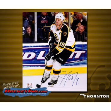 Joe Thornton 16 x 20 Autographed Photo
