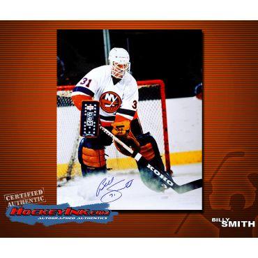 Billy Smith New York Islanders 16 x 20 Autographed Photo