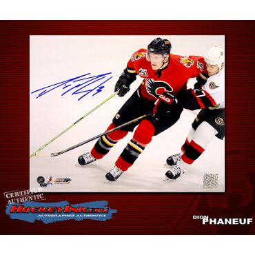 Dion Phaneuf Calgary Flames 16 x 20 Autographed Photo