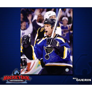 Bill Guerin St. Louis Blues 16 x 20 Autographed Photo