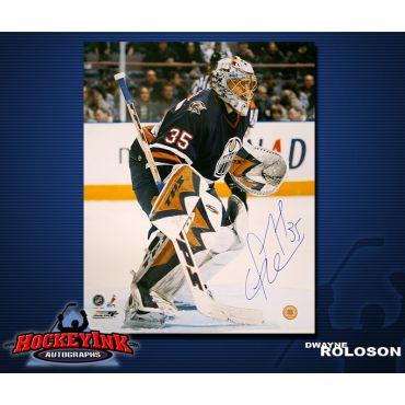 Dwayne Roloson Edmonton Oilers 16 x 20 Autographed Photo