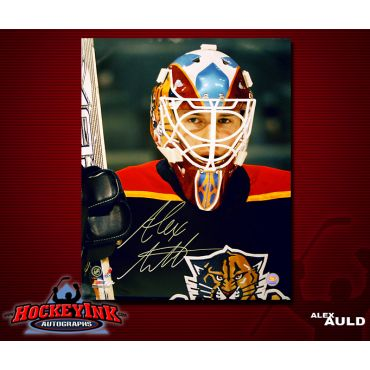 Alex Auld Florida Panthers 16 x 20 Autographed Photo