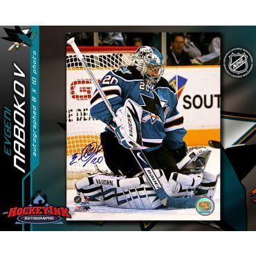 Evgeni Nabokov San Jose Sharks 16 x 20 Autographed Photo