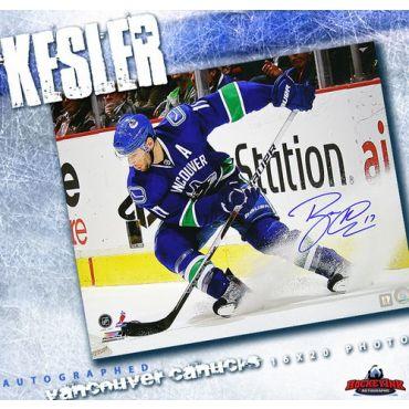 Ryan Kesler Vancouver Canucks Autographed 16 x 20 Photo