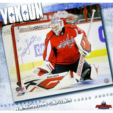 Tomas Vokoun Washington Capitals 16 x 20 Autographed Photo