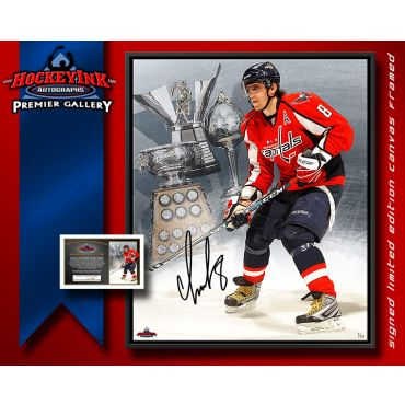 Alexander Ovechkin with Awards Framed 22 x 26 Autographed Print