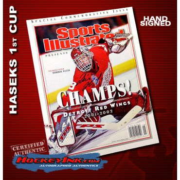 Dominik Hasek Commemorative Sports Illustrated Autographed
